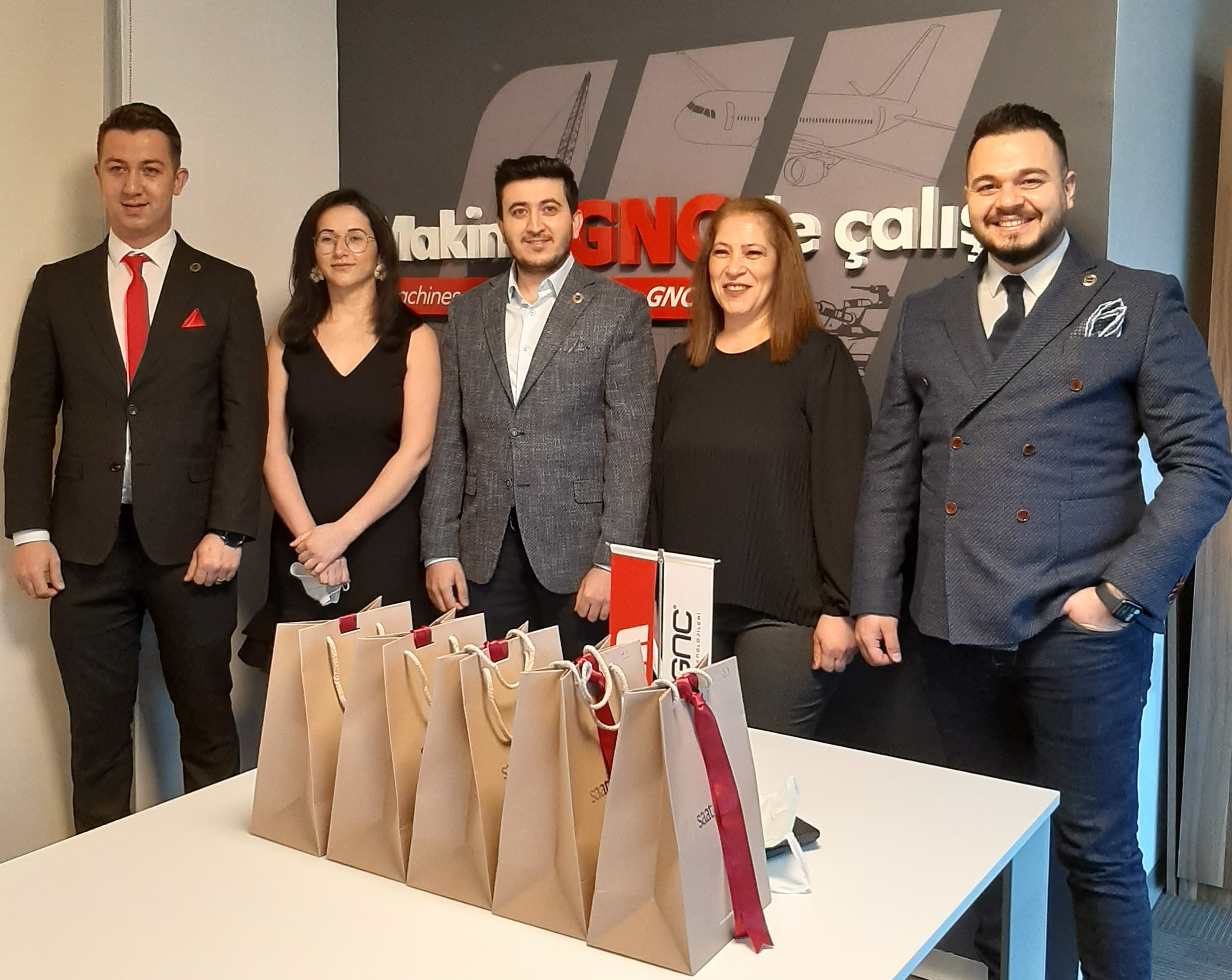 Fifth Year Congratulations Ceremony From Gnc Makina To Its Employees