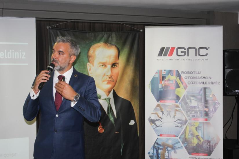 GNC Makina İzmir'li Sanayiciler ile Buluştu
