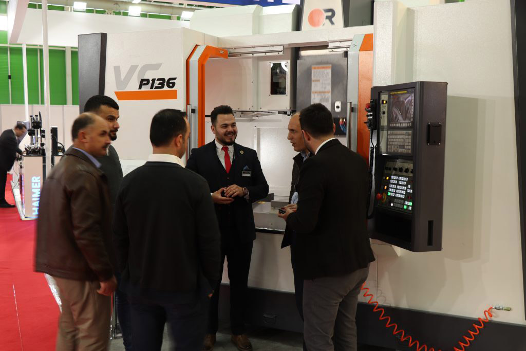 GNC MAKİNA Introduced Victor's Latest Models AX380 and P136 at MAKTEK Konya 2019 Fair with its New Image