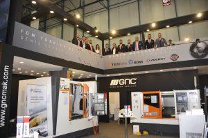 GNC CNC Makina Teknolojileri Türkiye'nin En Büyük Makina Fuarı 'Maktek 2018' De!
